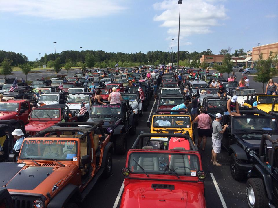 Carolina Beach Jeep Go Topless Day